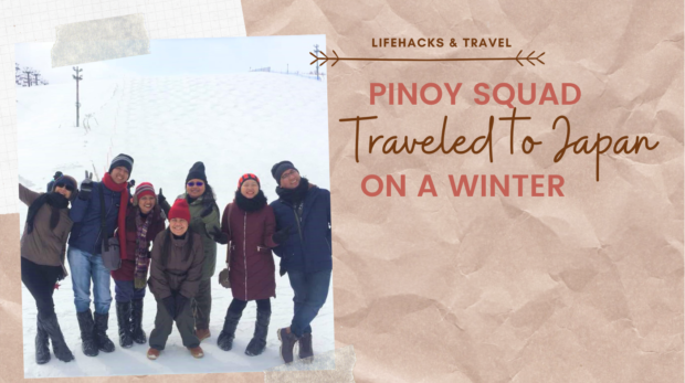 PINOY SQUAD WANDERS JAPAN ON A WINTER!