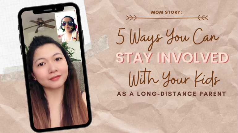 5 Ways You Can Stay Involved With With Kids Long Distance Parent