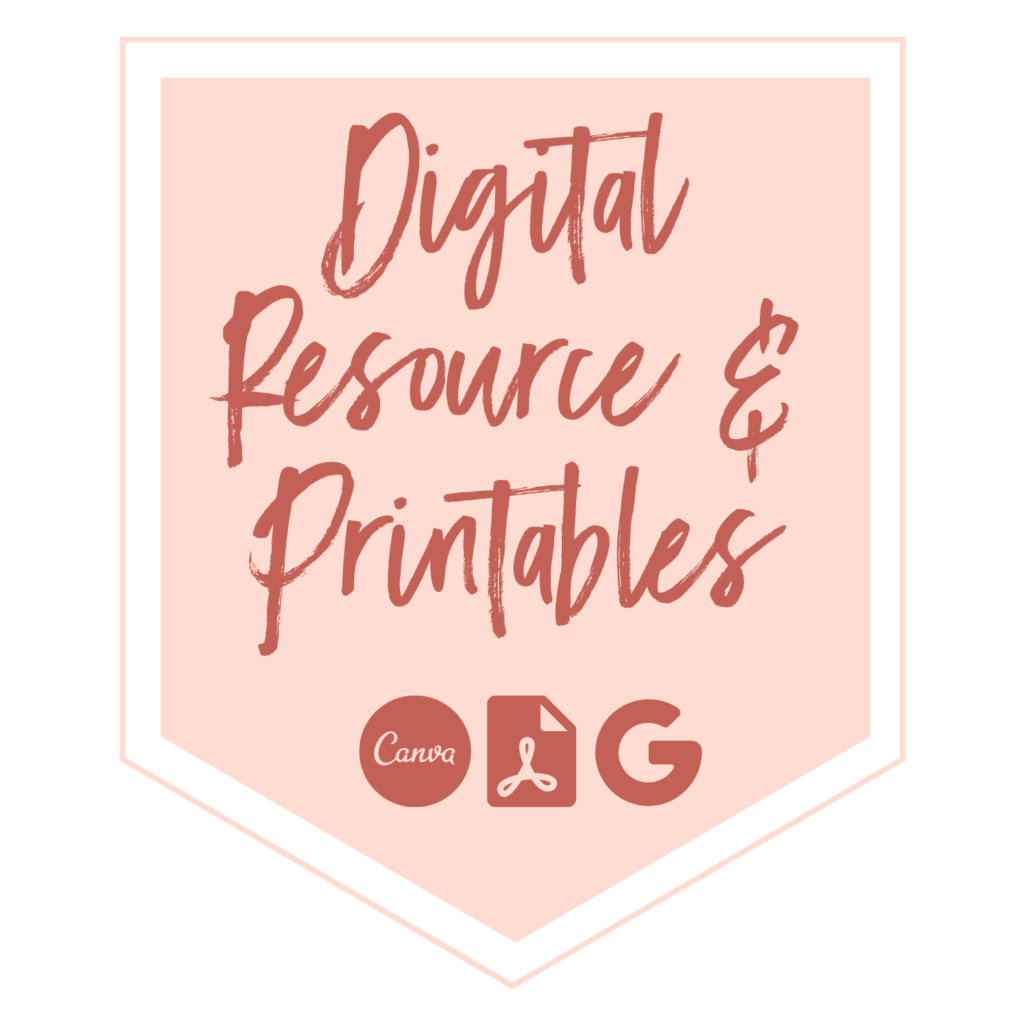 Digital Resource and printables