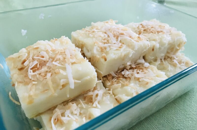 Easy Maja Blanca Recipe (coconut milk pudding without the corn!)